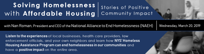 Image about homelessness summit on March 20th, 2019